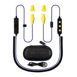 PLUGFONES® LIBERATE 2.0 EARPLUG-EARBUD HYBRID - BLUE CABLE