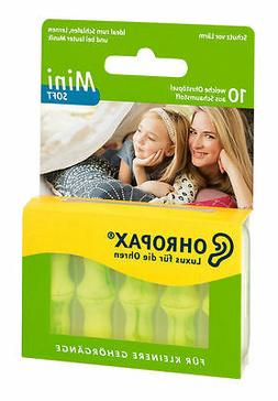 OHROPAX Mini Soft Ear Plugs for Children/Adults with Smaller