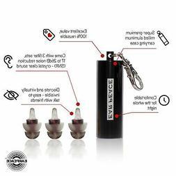 EarPeace Motorcycle Ear Plugs - High Fidelity Hearing Protec