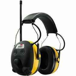 NEW 3M 90541 PELTOR WORKTUNES AM/FM/MP3 DIGITAL EARMUFFS HEA