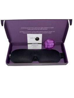 New Drift To Sleep Eye Mask with 2 pair Moldex Ear Plugs Bla