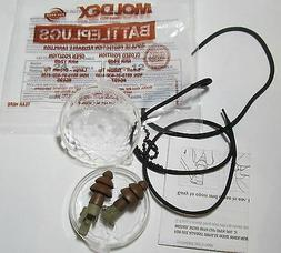 NEW PAIR MOLDEX 6499 BATTLEPLUGS IMPULSE EAR PLUGS SHOOTING/