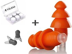 Noise Cancelling Ear Plugs By EarJoy - For sleeping swimming