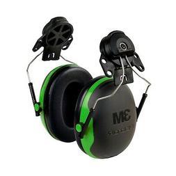 3M Peltor XSeries CapMount Earmuffs, NRR 21 dB, One Size Fit