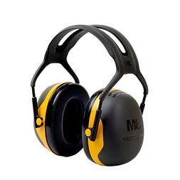 3M Peltor X-Series Over-the-Head Earmuffs, NRR 24 dB, One Si