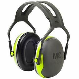 3M Peltor X-Series Over-the-Head Earmuffs, NRR 27 dB, One Si