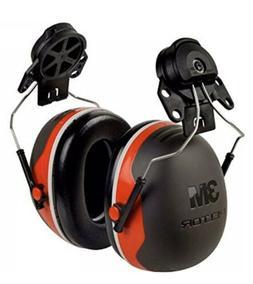 3M Peltor XSeries X3P3E CapMount Earmuffs, NRR 25 dB, One Si