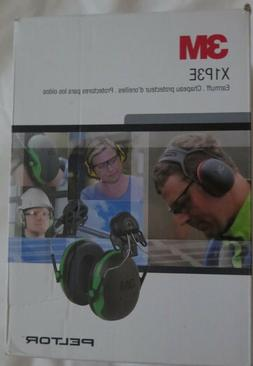 3M Peltor X-Series Cap-Mount Earmuffs Hearing Protection Hea