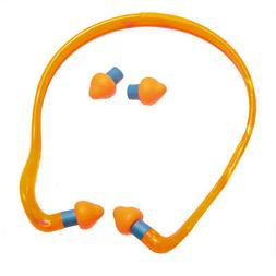 R3 Safety Pink/Yellow Ear Band Plugs, Reusable  Category: Ea