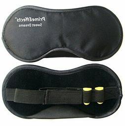 PrimeEffects Sweet Dreams Sleep Mask with Ear Plugs