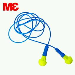 3M Push-Ins Corded Earplugs for Hearing Protection