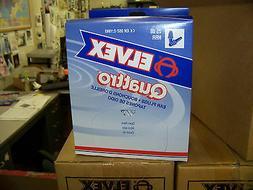 Elvex Quattro Uncorded Ear Plugs Blue 25 Decibels 100 Pair p