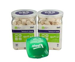 2 Pack Flents Quiet! Please Noise Reducing Ear Plugs with a