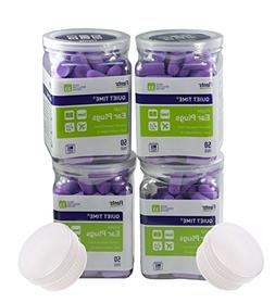 Flents Quiet Time Soft Comfort Ear Plugs 50 Pair - You Get a
