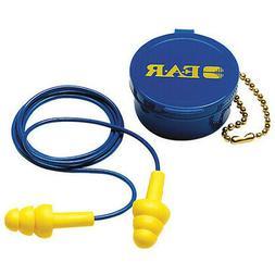 3M Reusable Ear Plugs,25dB,Corded,Univ,PR, 340-4002