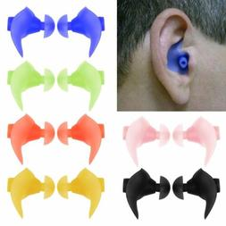SOFT SILICONE ANTI NOISE FOAM EAR PLUGS FOR SWIM SLEEP WORK