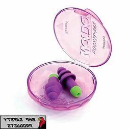MOLDEX ROCKETS 6400 UN-CORDED REUSABLE EAR PLUGS W/ CARRY CA