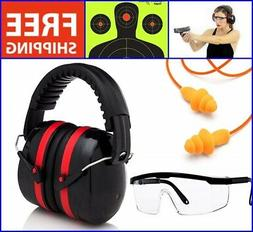 Shooting Ear Muffs noise protection Set Hearing Ear Plugs Sa
