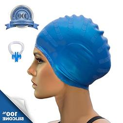 Pro Silicone Swim Cap by VivoPro Sports | Pro-Quality Waterp