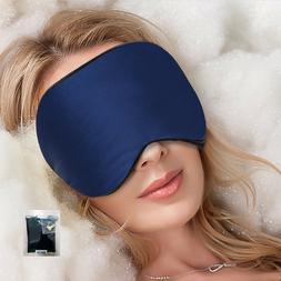 Silk Eye Mask, Sleeping Aid Shade, Soft,Comfortabl & Light,