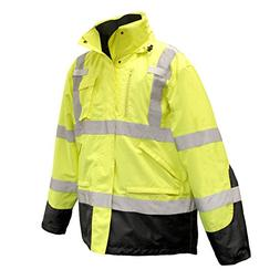 Radians SJ410B High Visibility Class 3 Three-in-One Weatherp