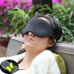 Travel Sleep Eye Mask 3D Memory Foam Padded Shade Sleeping B