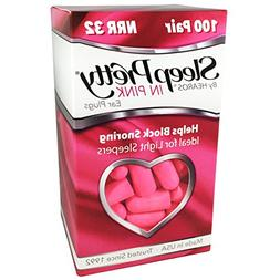 HEAROS Sleep Pretty in Pink Ear Plugs, With The Highest Snor