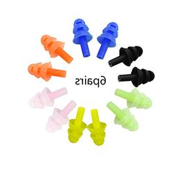 Honbay Soft and Flexible Ear Plugs for Swimming Study Readin