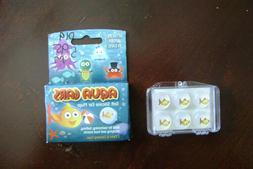 Aqua Ears Soft Silicone Ear Plugs 3 pairs with Carry Case