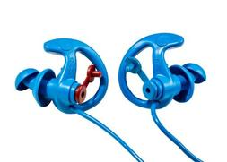 SureFire Sonic Defenders Cobalt Filtered Flanged Earplugs ,