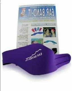 EAR BAND-IT Swimming Headband, Small Blue  - Invented by Phy