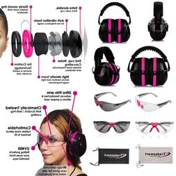 TRADESMART Shooting Ear Protection Earmuffs & Glasses Earplu