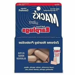 MACKS EAR PLUGS SOFT FOAM 10 PR