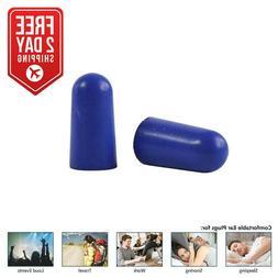 Ultra-Soft Foam Earplugs, Box of 200 Pair - 32dB Highest NRR