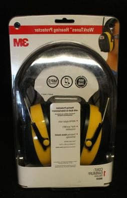 3M WorkTunes Hearing Protector Headphones MP3 Compatible wit
